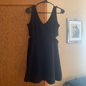 Soprano Dresses - LBD with side cutouts